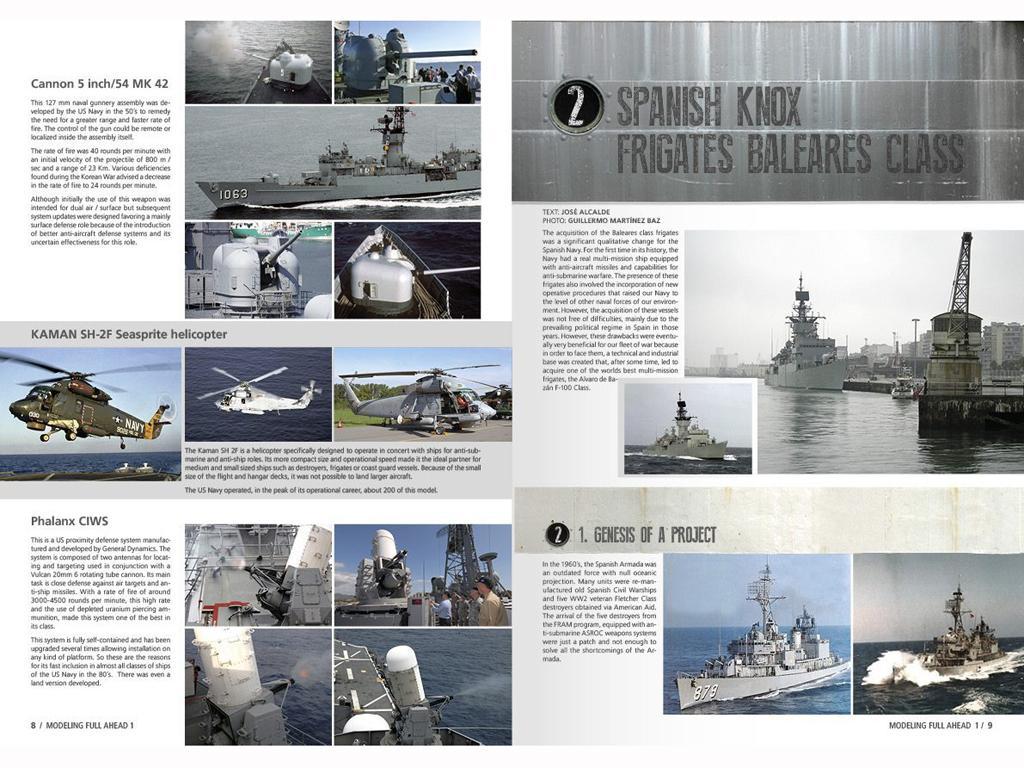 Modelling Full Ahead Knox & Clase Balear (Vista 3)