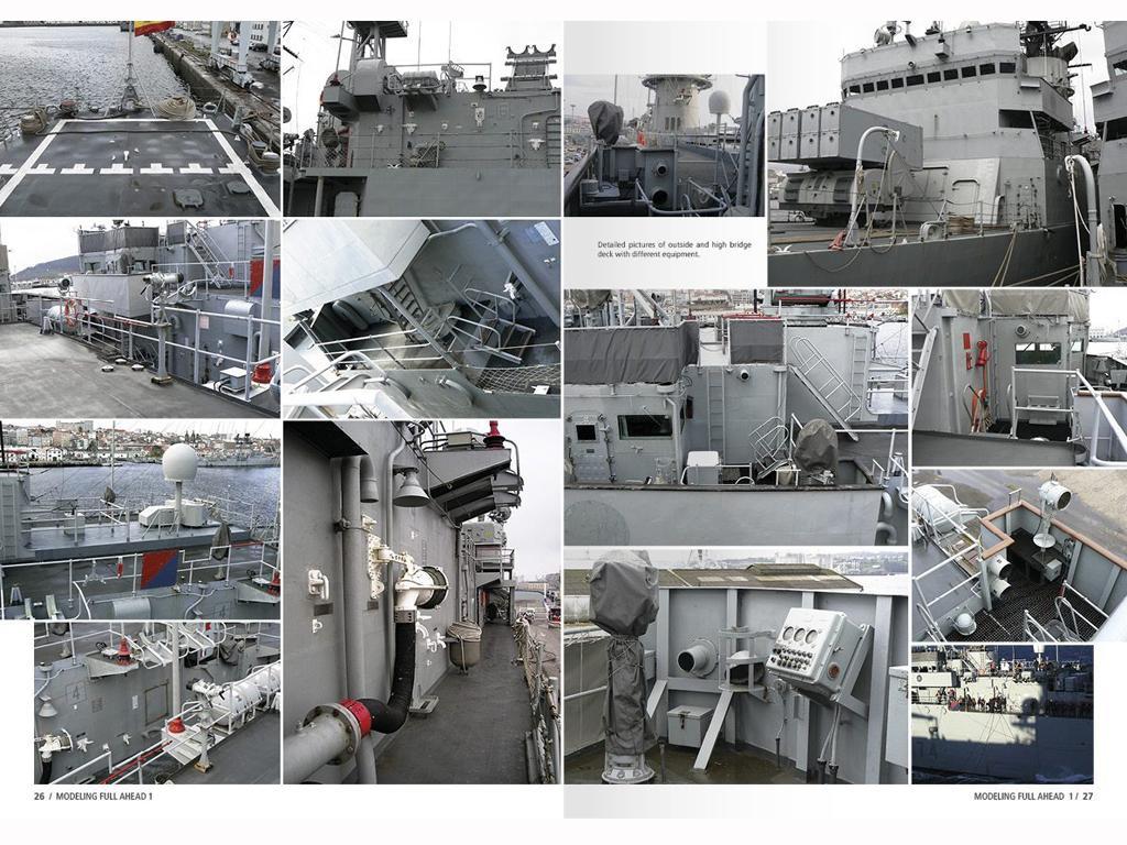 Modelling Full Ahead Knox & Clase Balear (Vista 4)