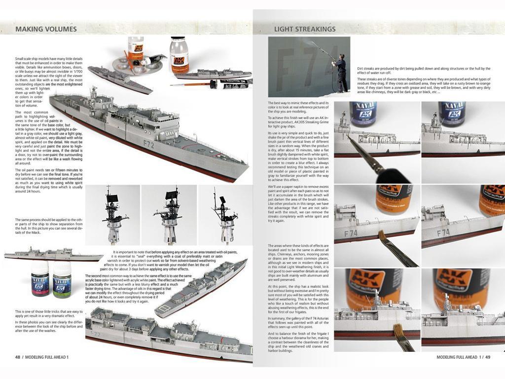 Modelling Full Ahead Knox & Clase Balear (Vista 6)