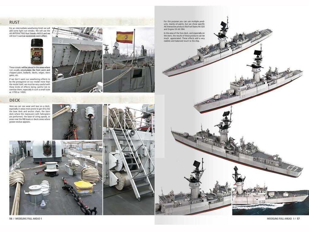 Modelling Full Ahead Knox & Clase Balear (Vista 7)