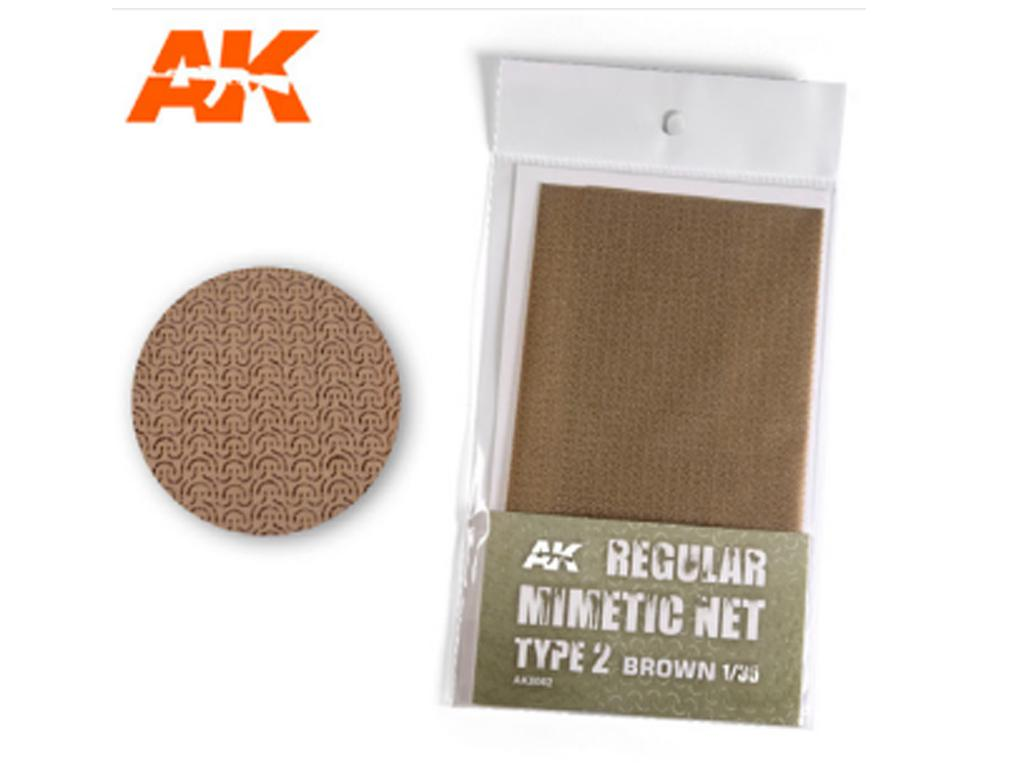 Malla mimética de arena tipo 2 (Vista 1)