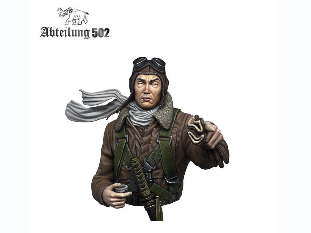 Piloto de caza Japonés Imperial (Vista 3)