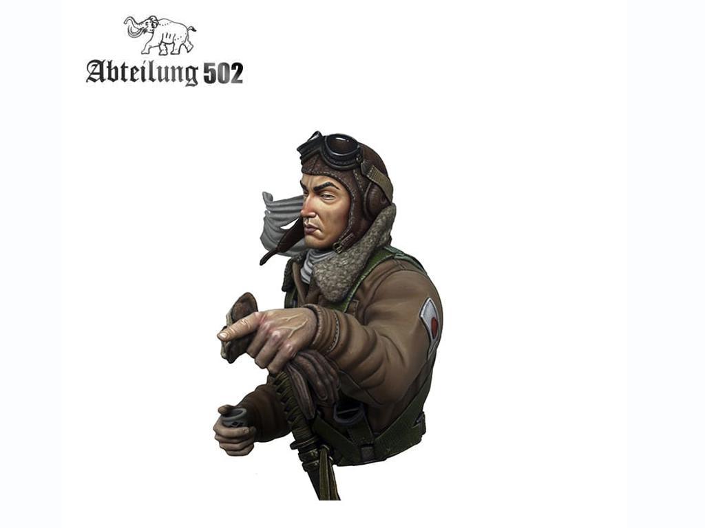 Piloto de caza Japonés Imperial (Vista 4)