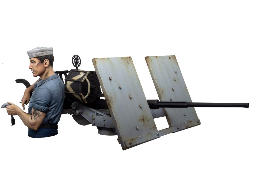 Midway Tarfu - Oerlikon 20 mm Machine Gunner (Vista 5)