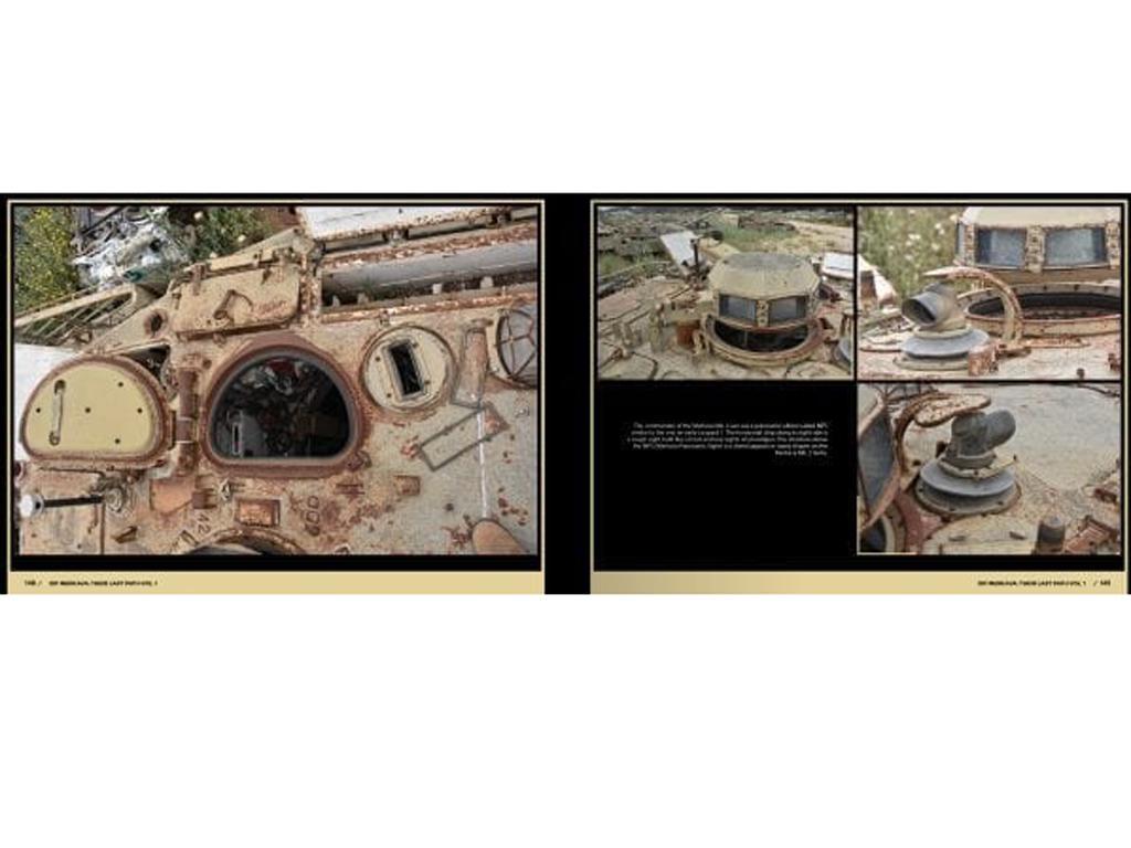 Su último camino  – IDF Tank Wrecks Merkava MK. 1 and 2 (Vista 2)