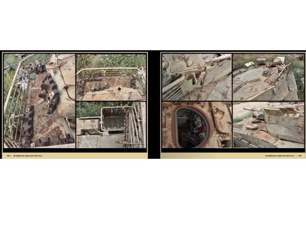 Su último camino  – IDF Tank Wrecks Merkava MK. 1 and 2 (Vista 3)