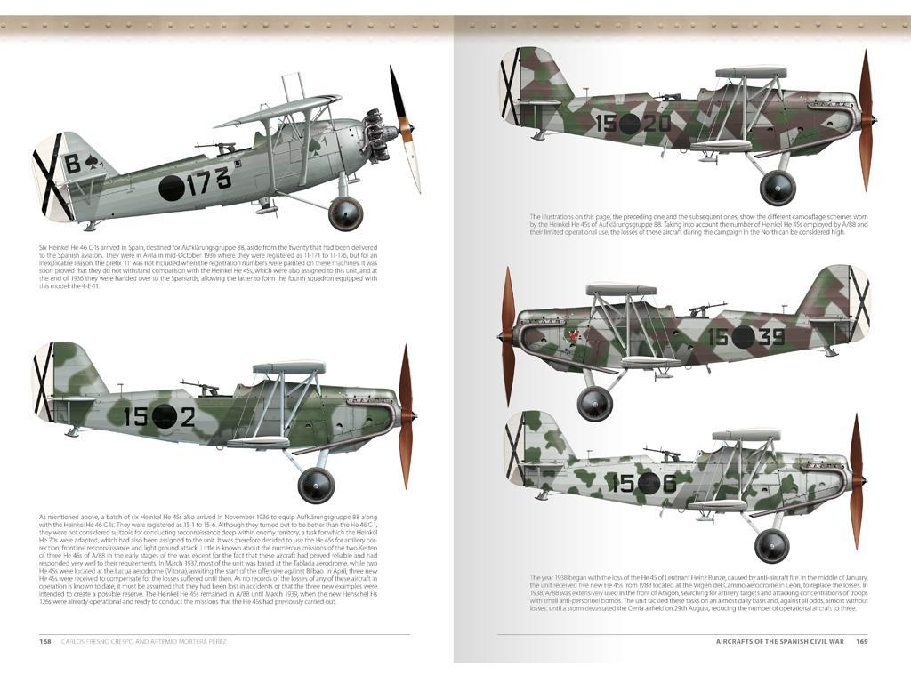 Aviones de la Guerra Civil Española 1936-1939 (Vista 10)