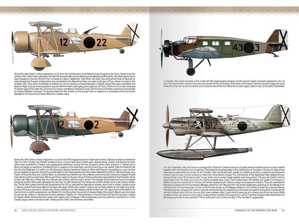 Aviones de la Guerra Civil Española 1936-1939 (Vista 13)