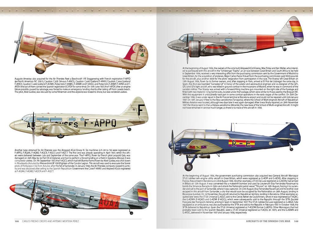 Aviones de la Guerra Civil Española 1936-1939 (Vista 14)