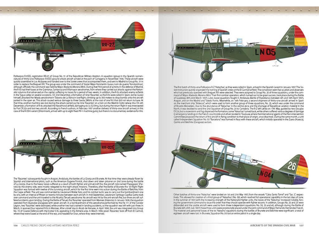 Aviones de la Guerra Civil Española 1936-1939 (Vista 2)