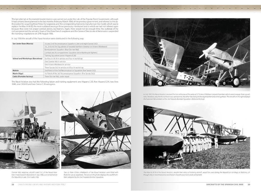 Aviones de la Guerra Civil Española 1936-1939 (Vista 3)