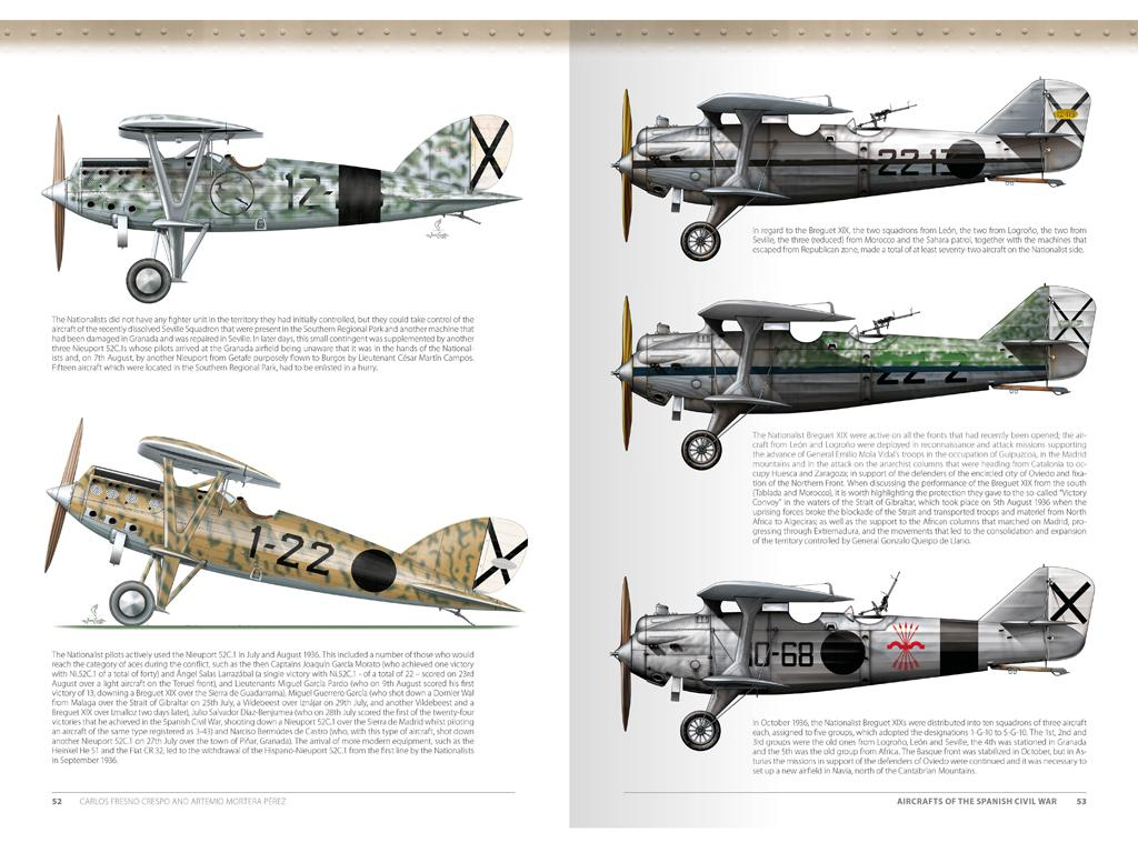Aviones de la Guerra Civil Española 1936-1939 (Vista 4)