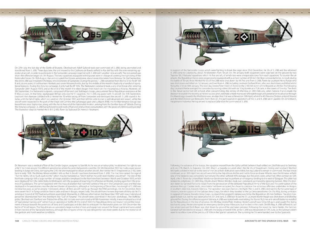 Aviones de la Guerra Civil Española 1936-1939 (Vista 7)
