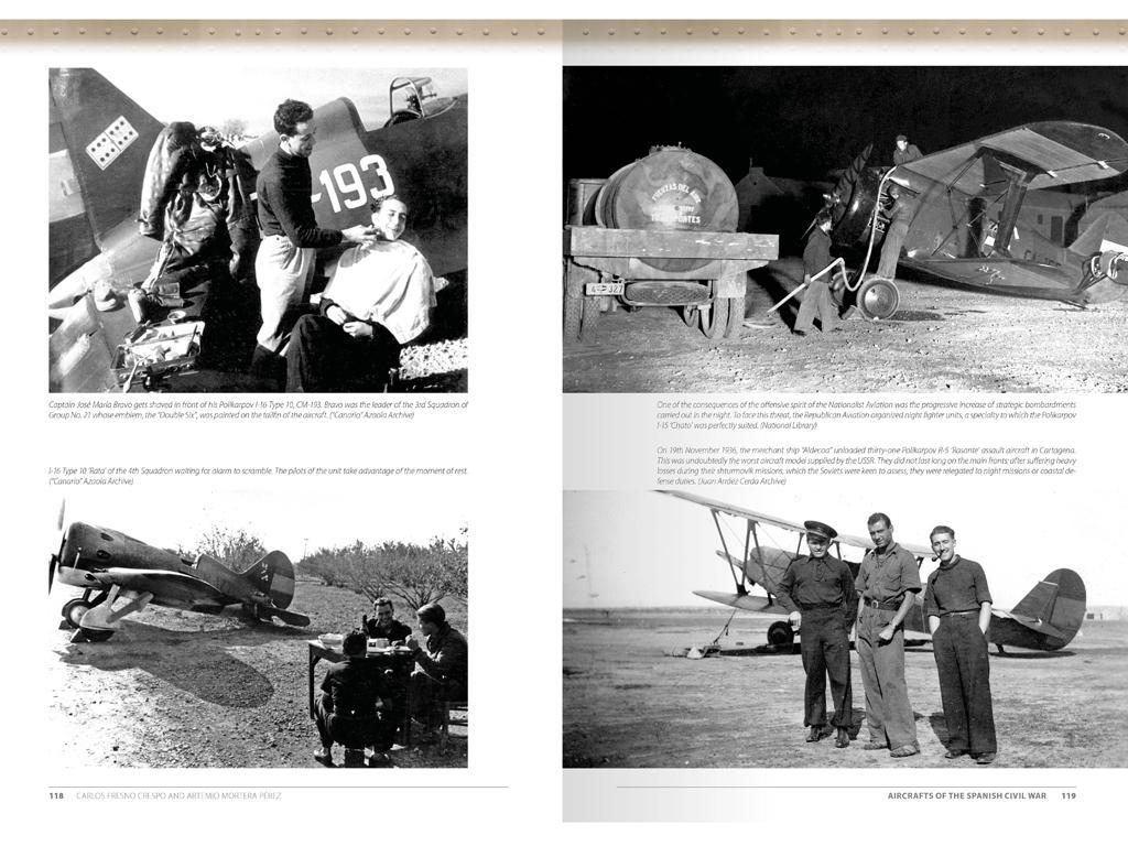 Aviones de la Guerra Civil Española 1936-1939 (Vista 9)