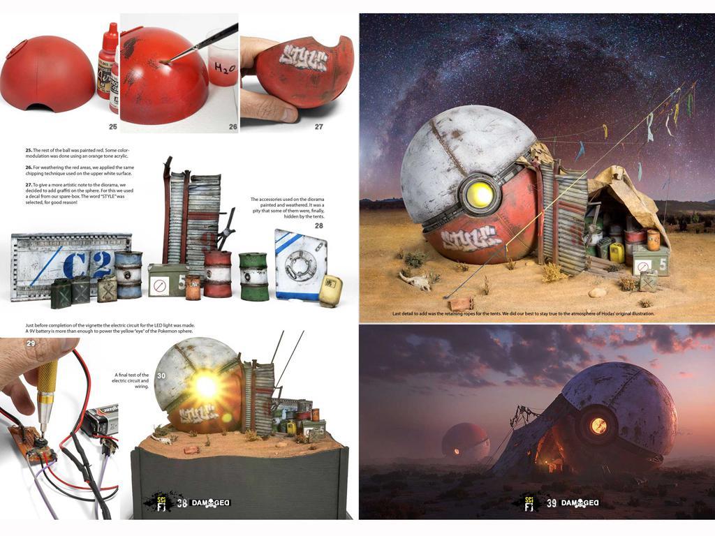 Libro Especial Damaged Ciencia Ficcion (Vista 4)