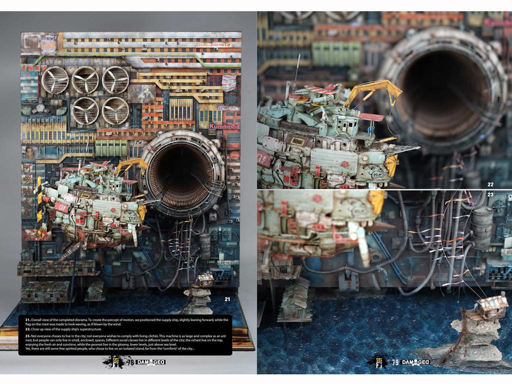 Libro Especial Damaged Ciencia Ficcion (Vista 8)