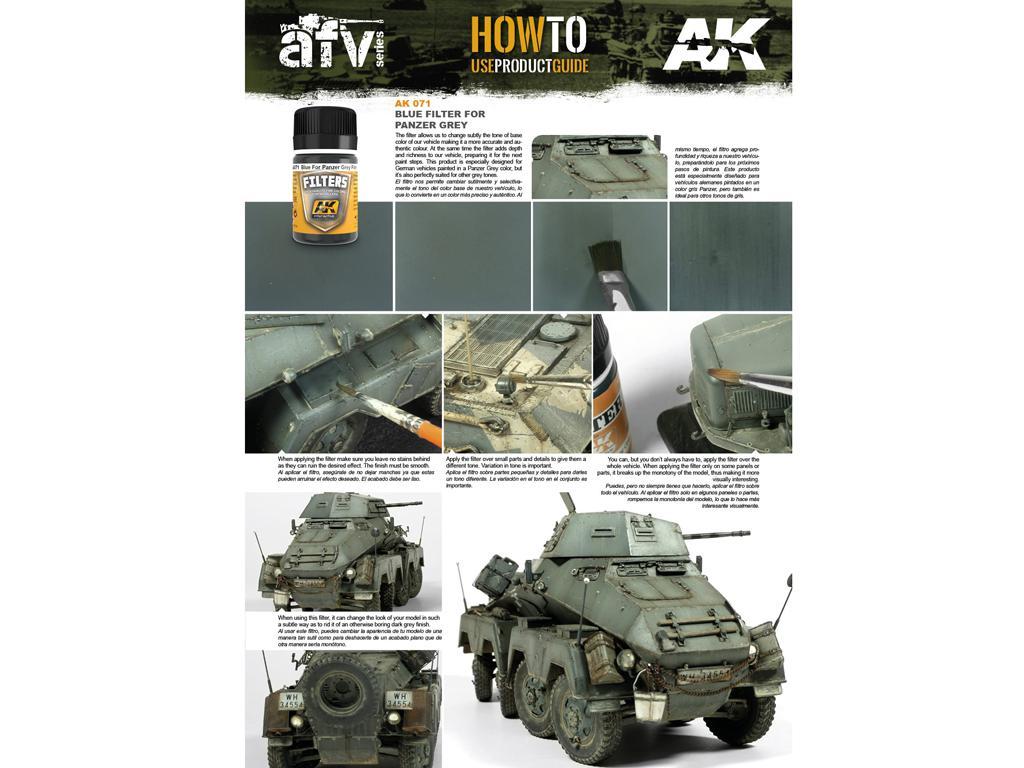 Filtro Azul Para Panzer Gris (Vista 2)