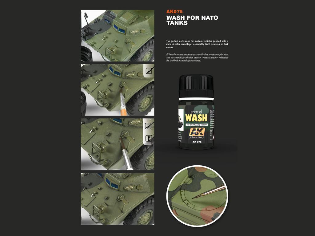 Lavado para vehiculos de la OTAN (Vista 2)