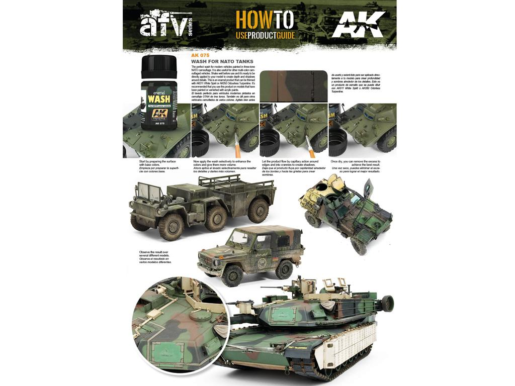 Lavado para vehiculos de la OTAN (Vista 3)