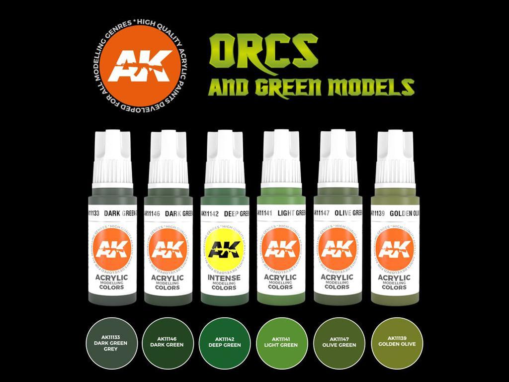 Orcos y Modelos Verdes (Vista 2)