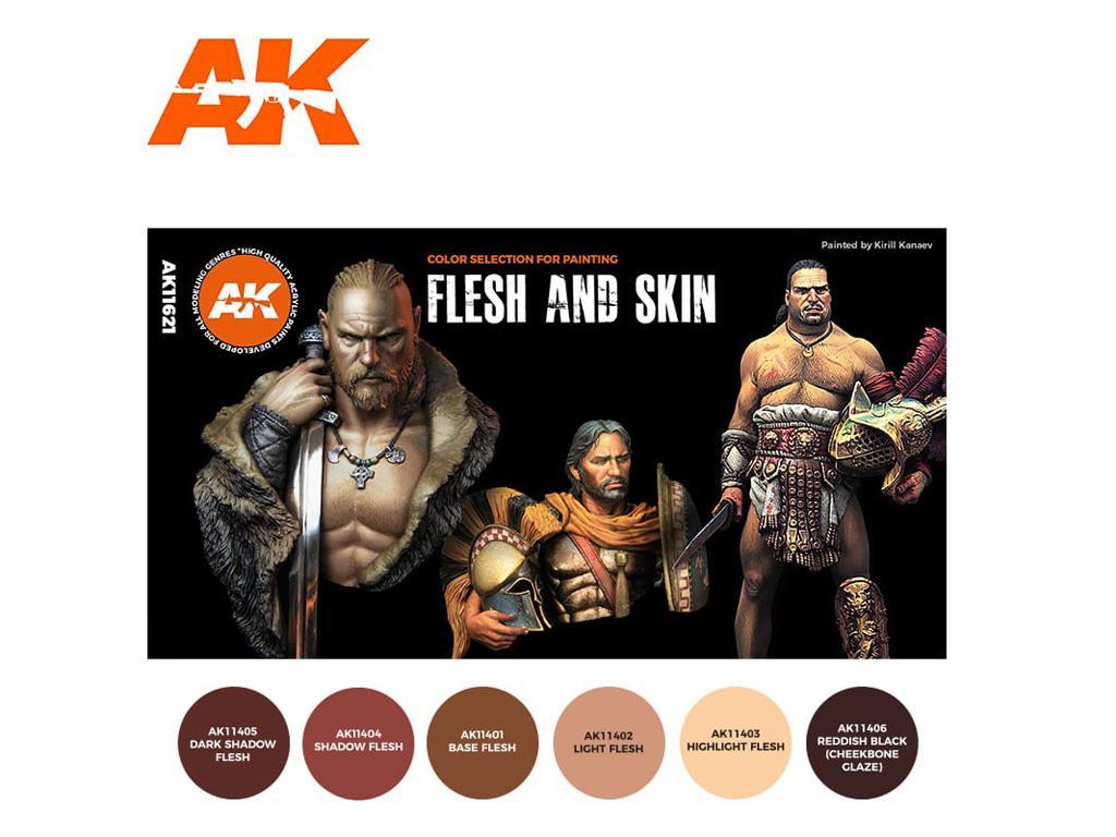 Colores de carne y piel (Vista 2)
