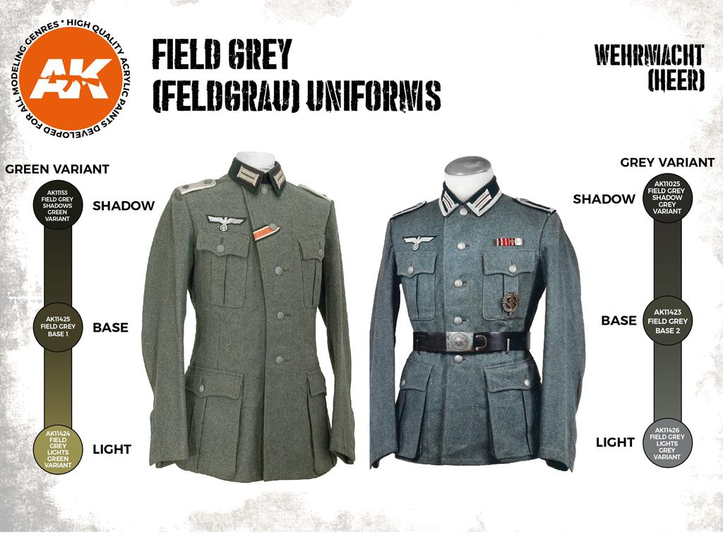 Uniformes Grises Feldgrau (Vista 2)