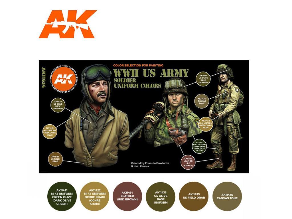 US Army Soldier Uniform Colors (Vista 2)