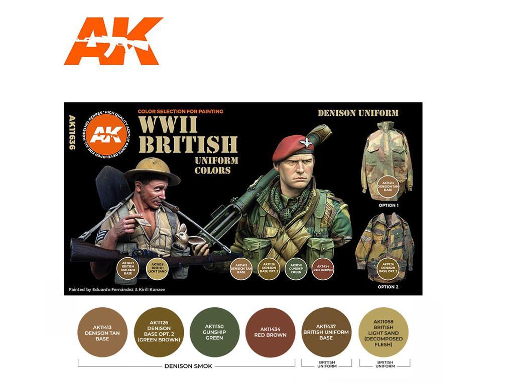 Colores Uniforme Británico (Vista 2)
