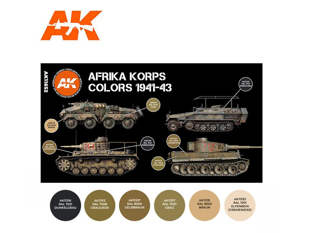 Colores del Africa Korps 1941-43 (Vista 2)