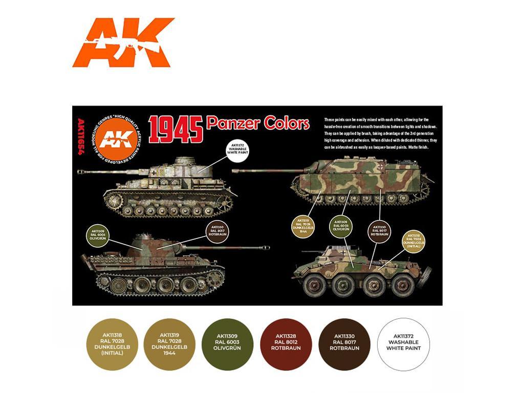 1945 Panzer Colors (Vista 2)