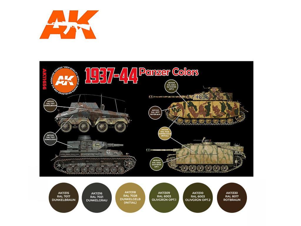 1937-44 Panzer Colors (Vista 2)