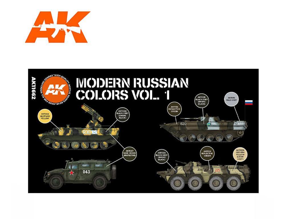 Colores Rusos modernos Vol. 1 (Vista 2)
