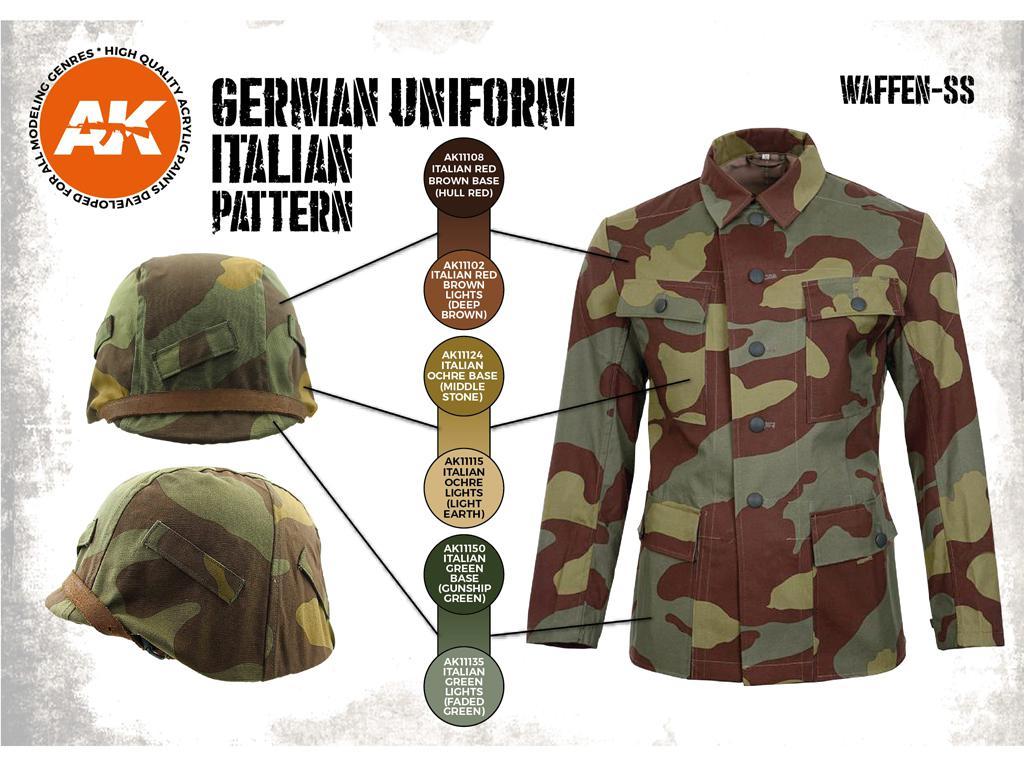 Uniforme Alemán patrón Italiano (Vista 2)