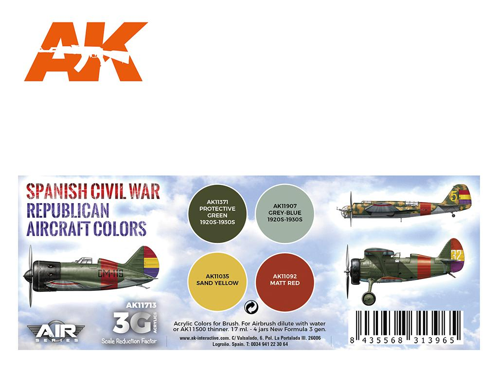 Colores Aviones Republicanos (Vista 2)