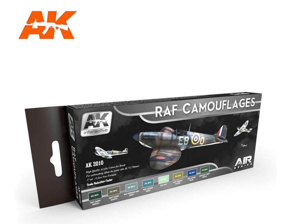 Camuflajes de la RAF (Vista 1)