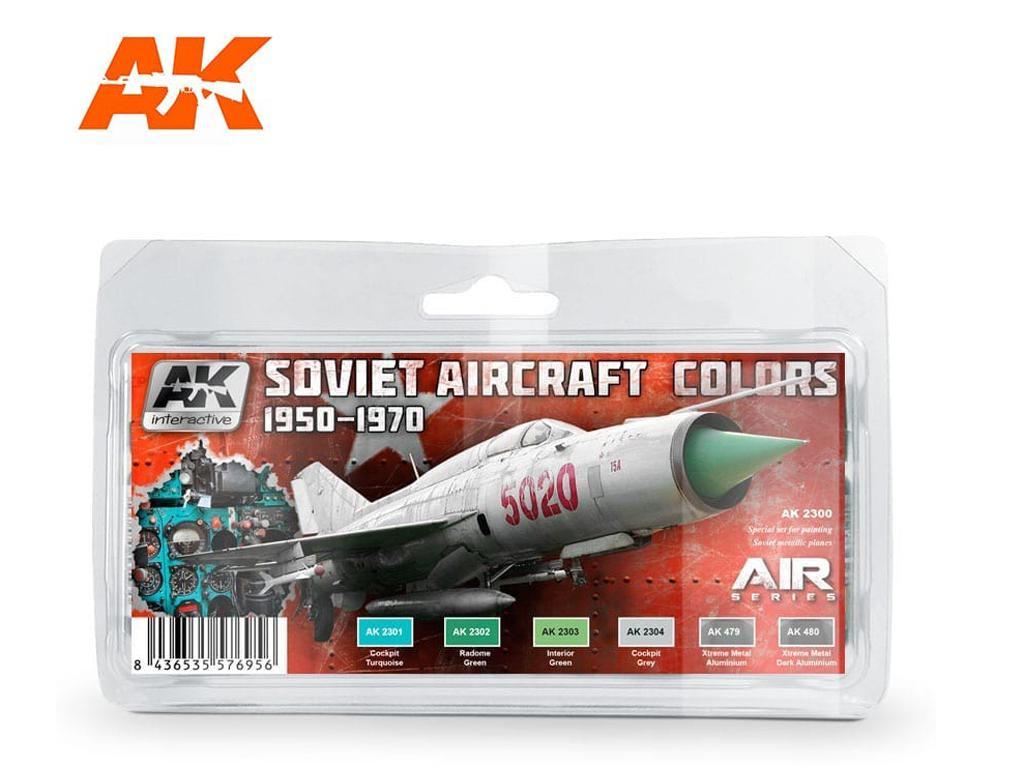 Colores Sovieticos Aviones 1950-70 (Vista 1)