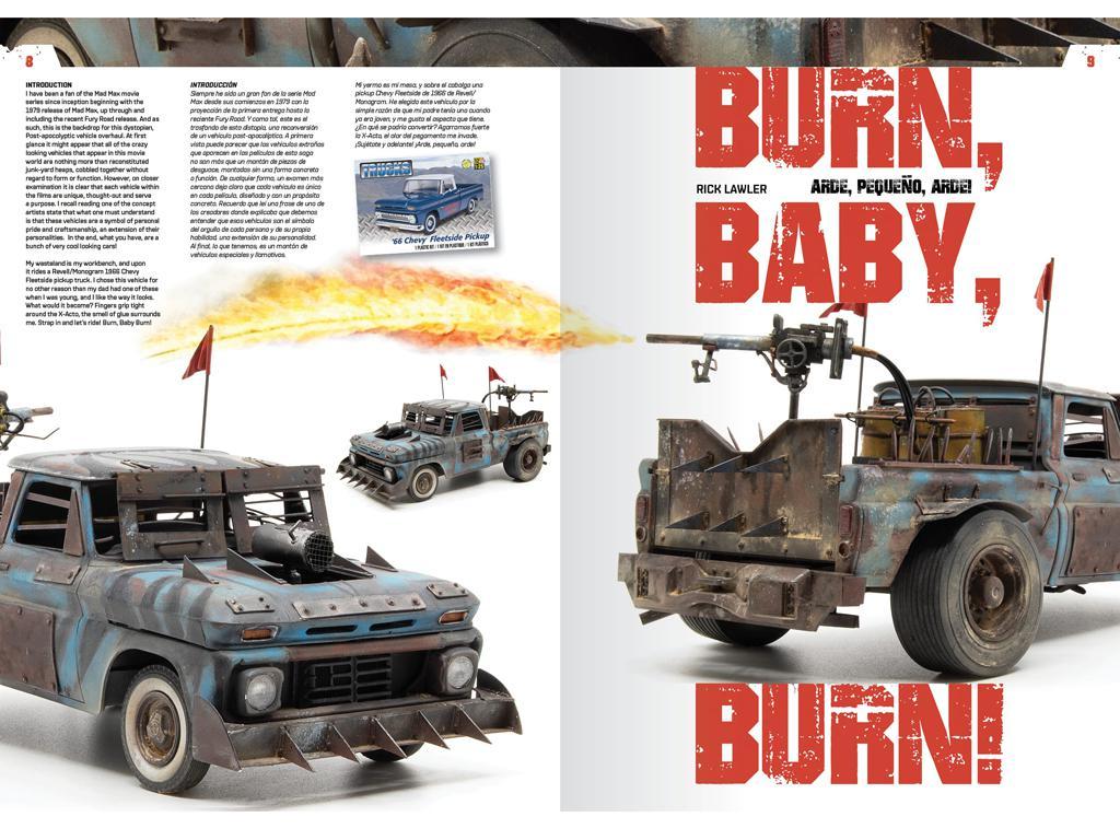 Doomsday Chariots - Modelado de vehículos post-apocalípticos (Vista 3)