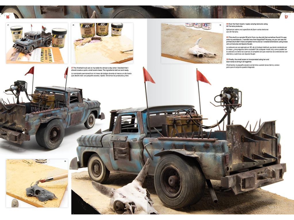 Doomsday Chariots - Modelado de vehículos post-apocalípticos (Vista 4)