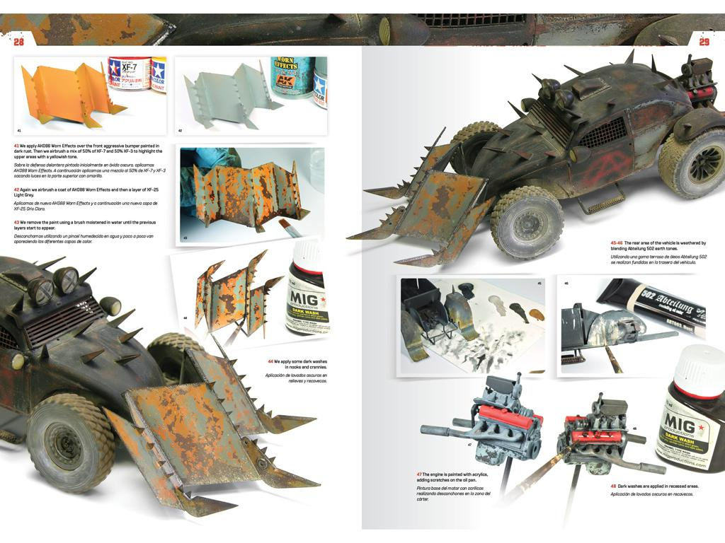 Doomsday Chariots - Modelado de vehículos post-apocalípticos (Vista 5)