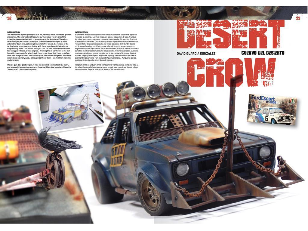 Doomsday Chariots - Modelado de vehículos post-apocalípticos (Vista 6)