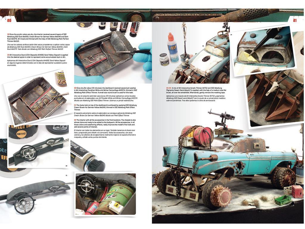 Doomsday Chariots - Modelado de vehículos post-apocalípticos (Vista 9)