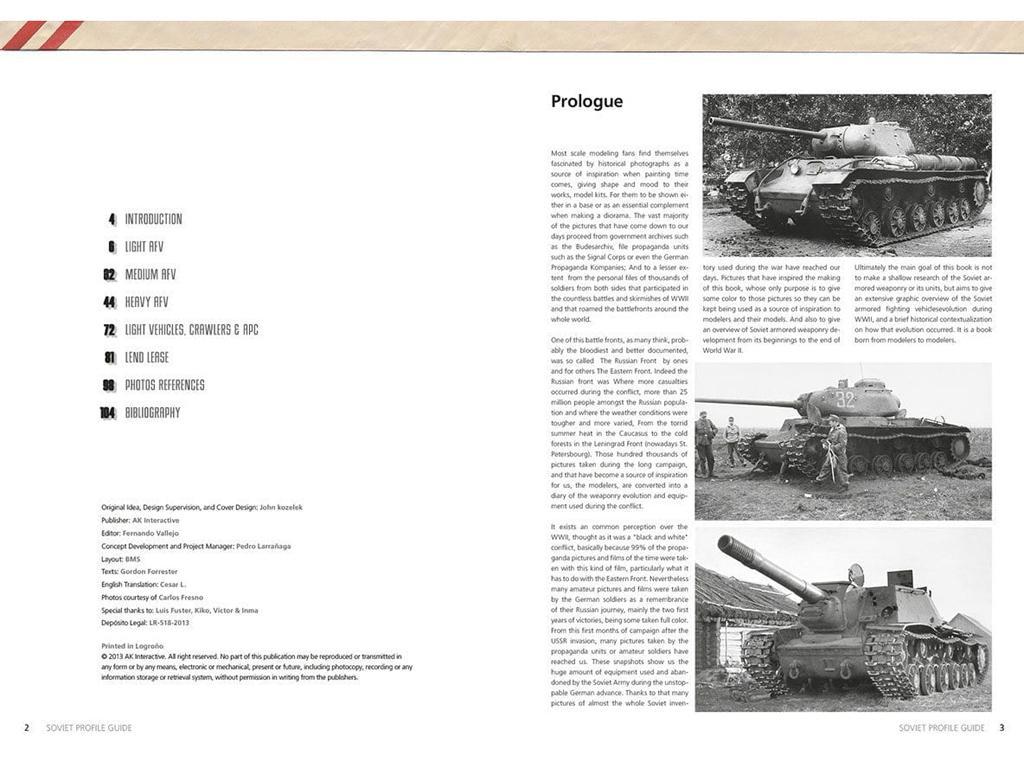 Guia de perfiles Sovieticos (Vista 4)