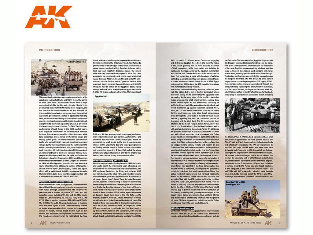 Middle East Wars 1948-1973 Vol.1 Profile (Vista 3)
