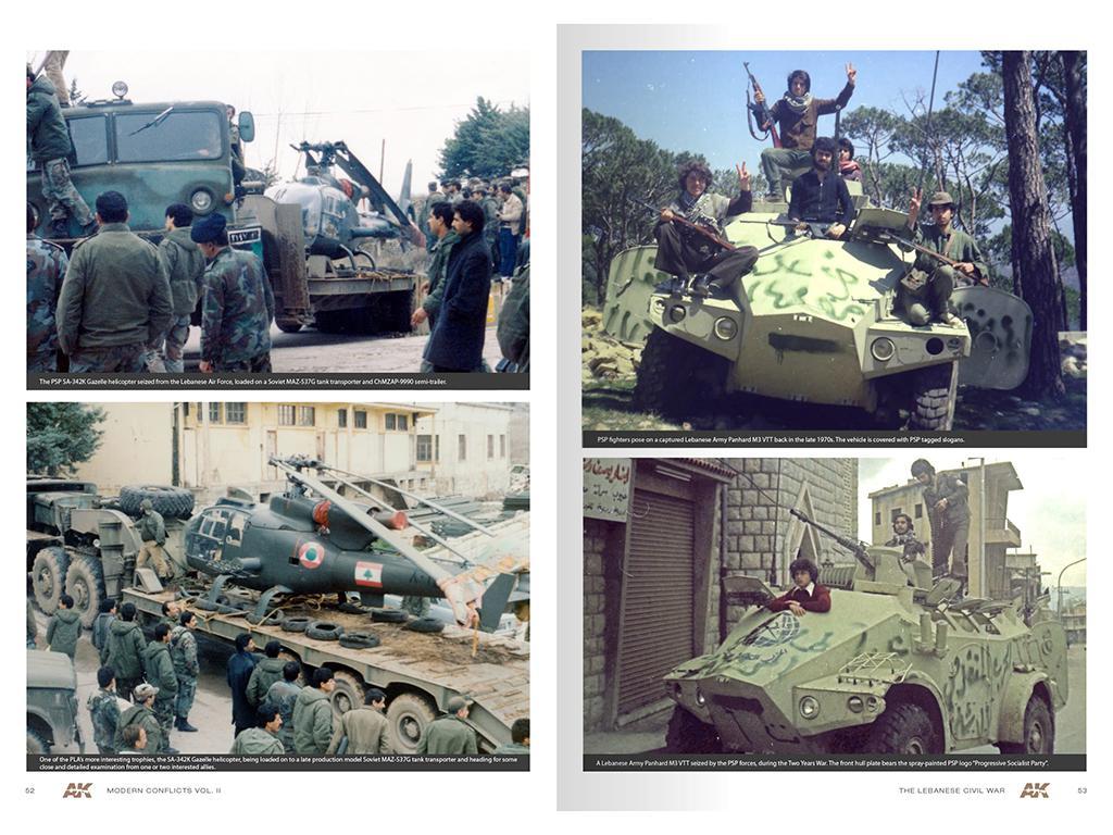 Wars in Lebanon Vol. 2 – Modern Conflicts Profile Guide Vol. II (Vista 3)