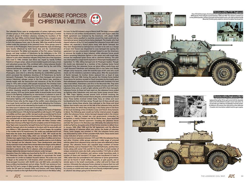 Wars in Lebanon Vol. 2 – Modern Conflicts Profile Guide Vol. II (Vista 4)
