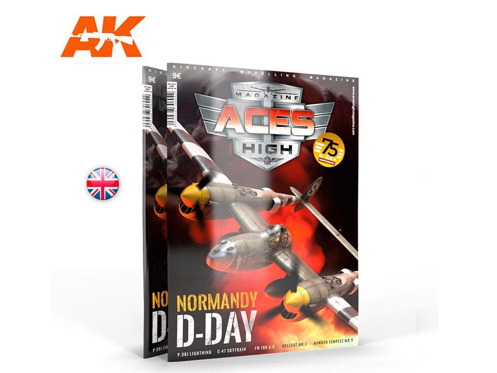 Aces High Número 16 Normandy D-Day (Vista 1)