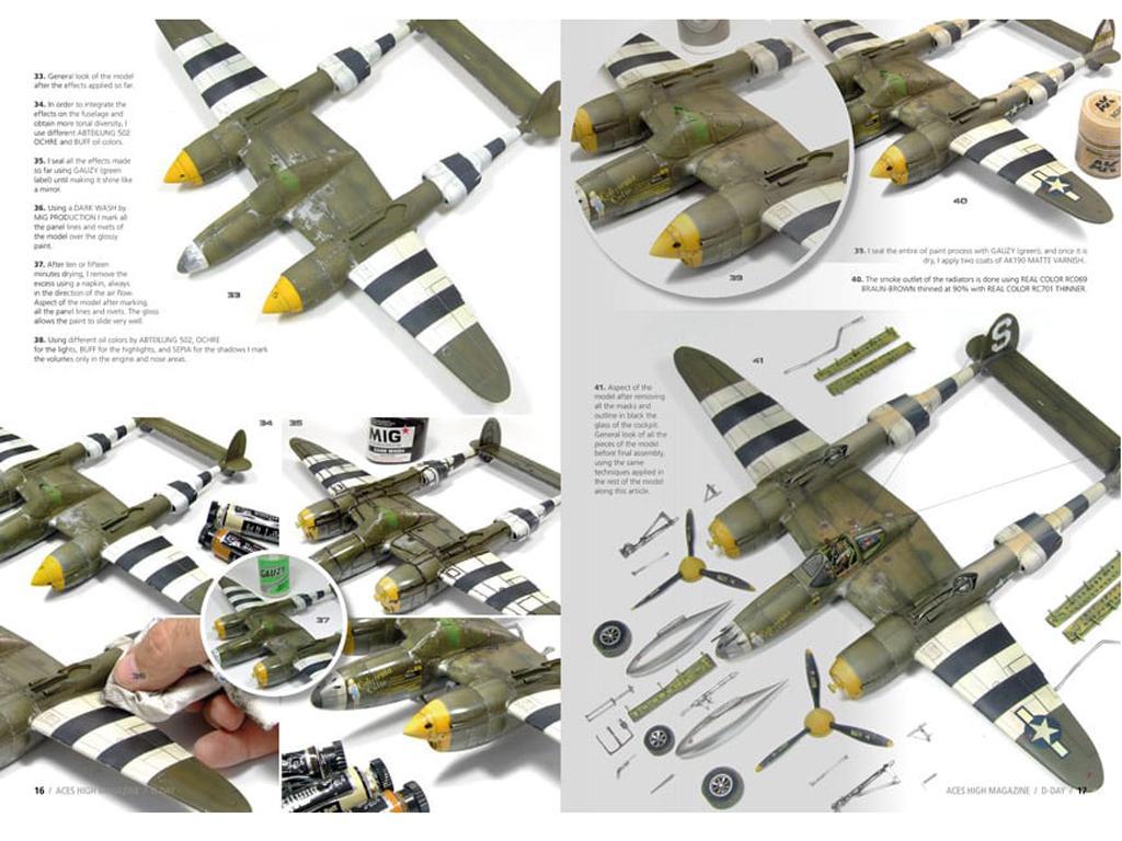 Aces High Número 16 Normandy D-Day (Vista 4)
