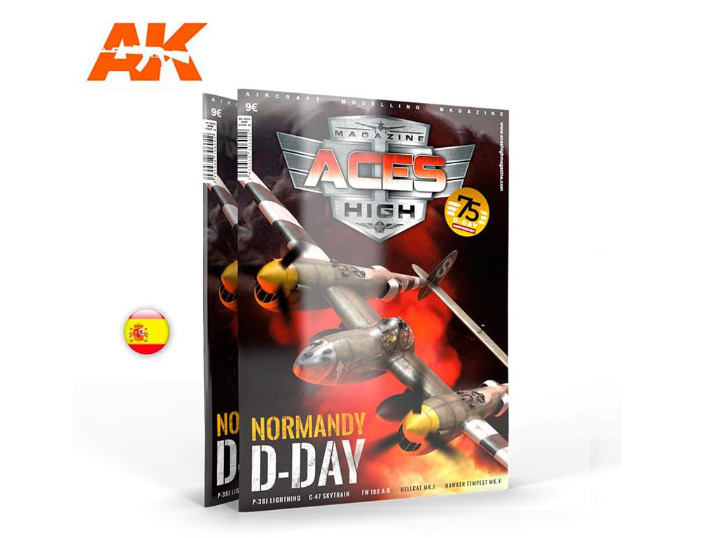 Aces High Número 16 Normandy D-Day (Vista 1)