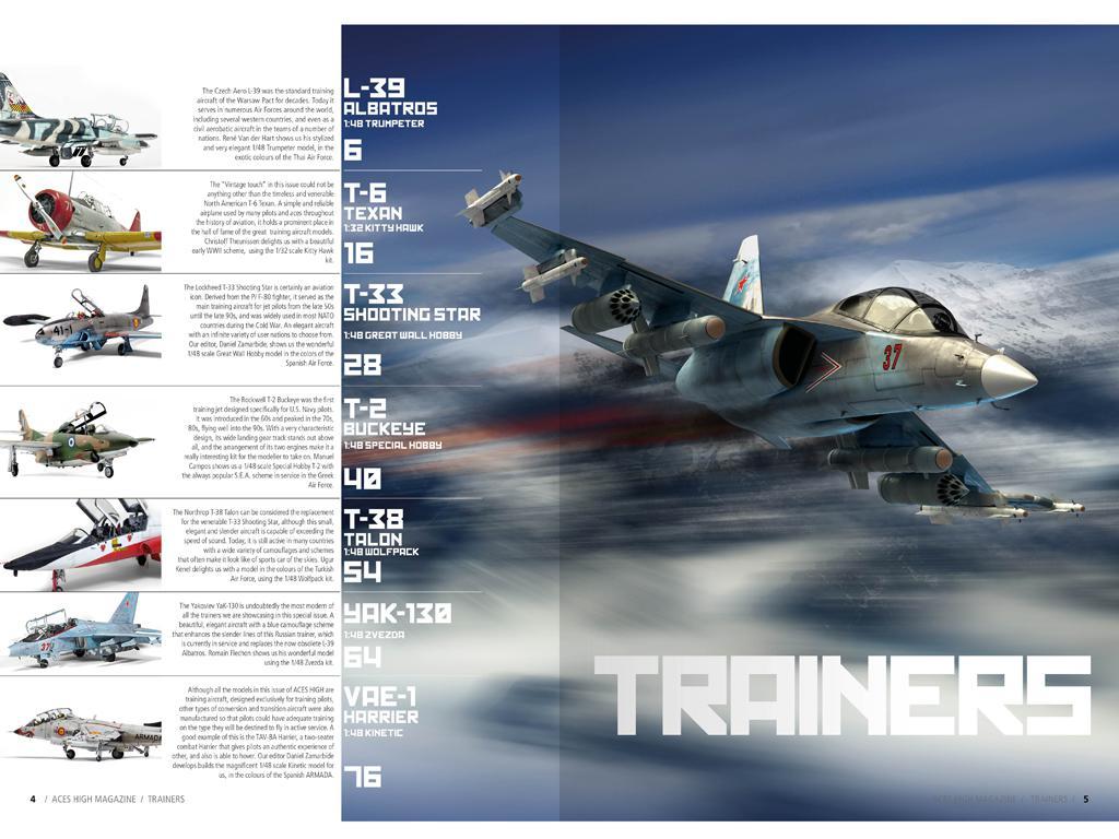 Aces High 18 , Entrenadores (Vista 5)