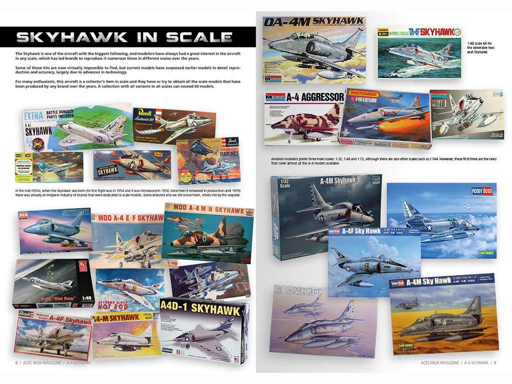 Aces High Monographic Series : Skyhawk (Vista 2)